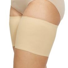 1PC jambières Silicone anti-dérapant chaussettes couleur unie élastique Anti-friction cuisse manches minceur caoutchouc jambe manches jambes sangles