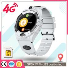 Kids Smart Watch GPS Tracker Video Call Wifi Sim Card Cramera 680mAh Battery 4G Smartwatch For Boys