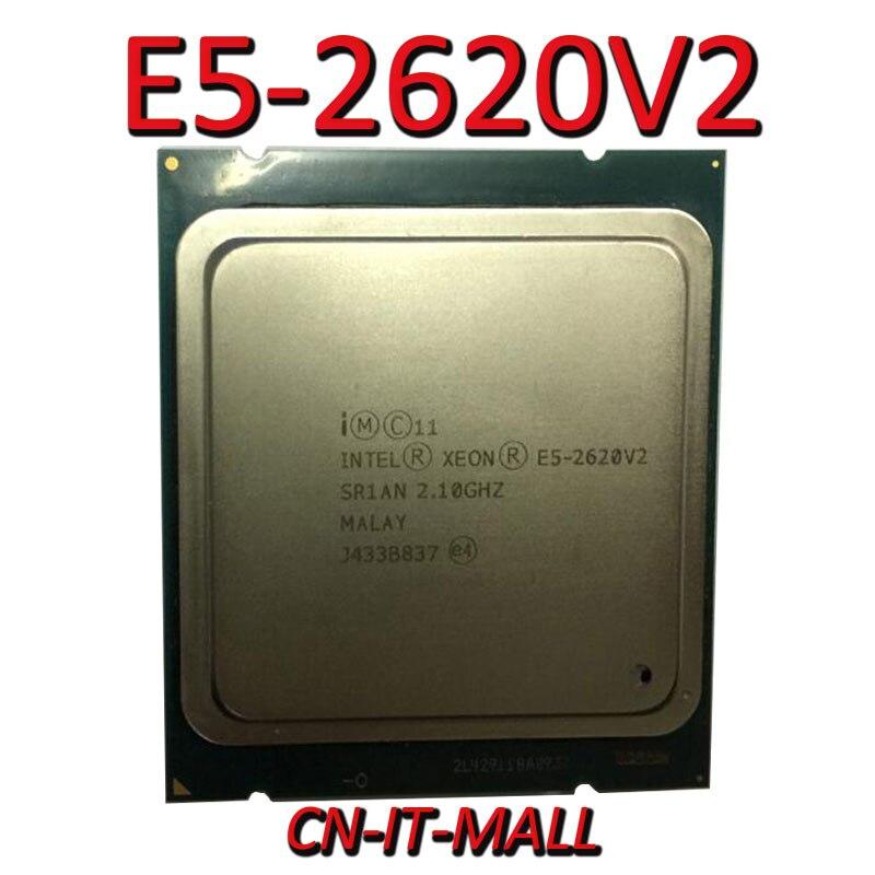 Intel Xeon E5-2620V2 CPU 2,1 GHz 15MB Cache 6 Kerne 12 Themen LGA2011 Prozessor