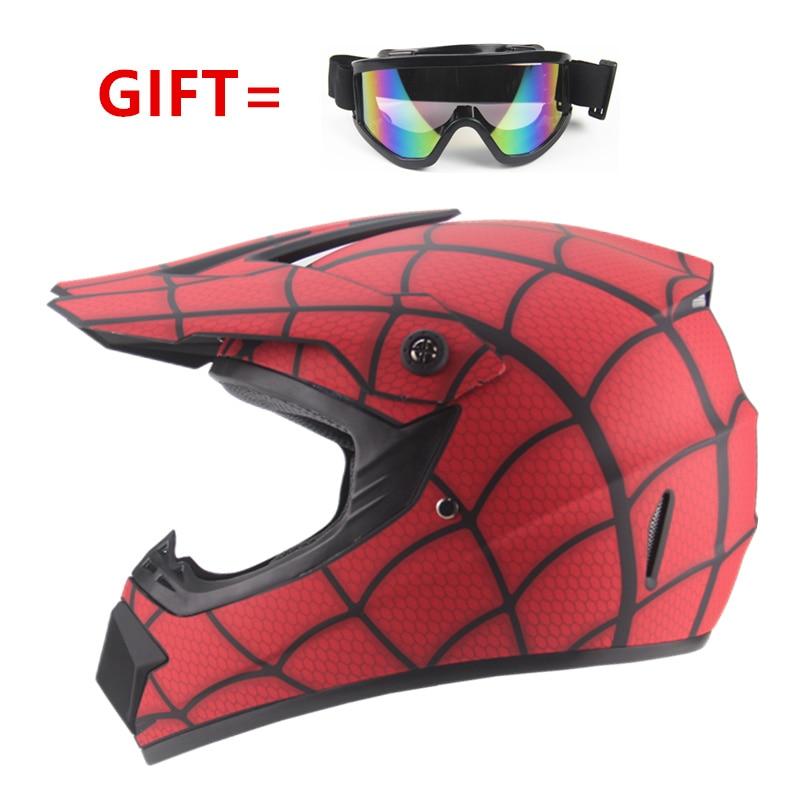 Cascos de ciclismo para niños y niñas, de alta calidad, protectores para ciclismo y Motocross, casco de seguridad MTV DH para niños