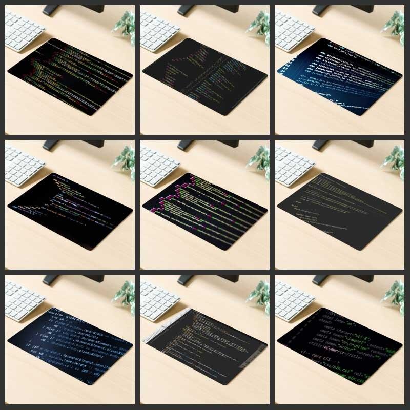 Alfombrilla de ratón para juegos promocional XGZ alfombrilla de mesa de código de ordenador goma Natural inodoro antideslizante para posavasos personalizados de Lol Dota Gamer