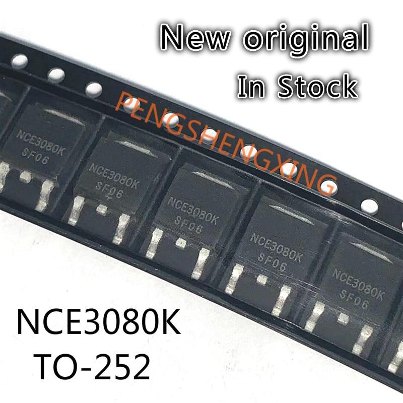 10PCS/LOT  NCE3080K   3080K  30V 80A TO-252  New original spot hot sale