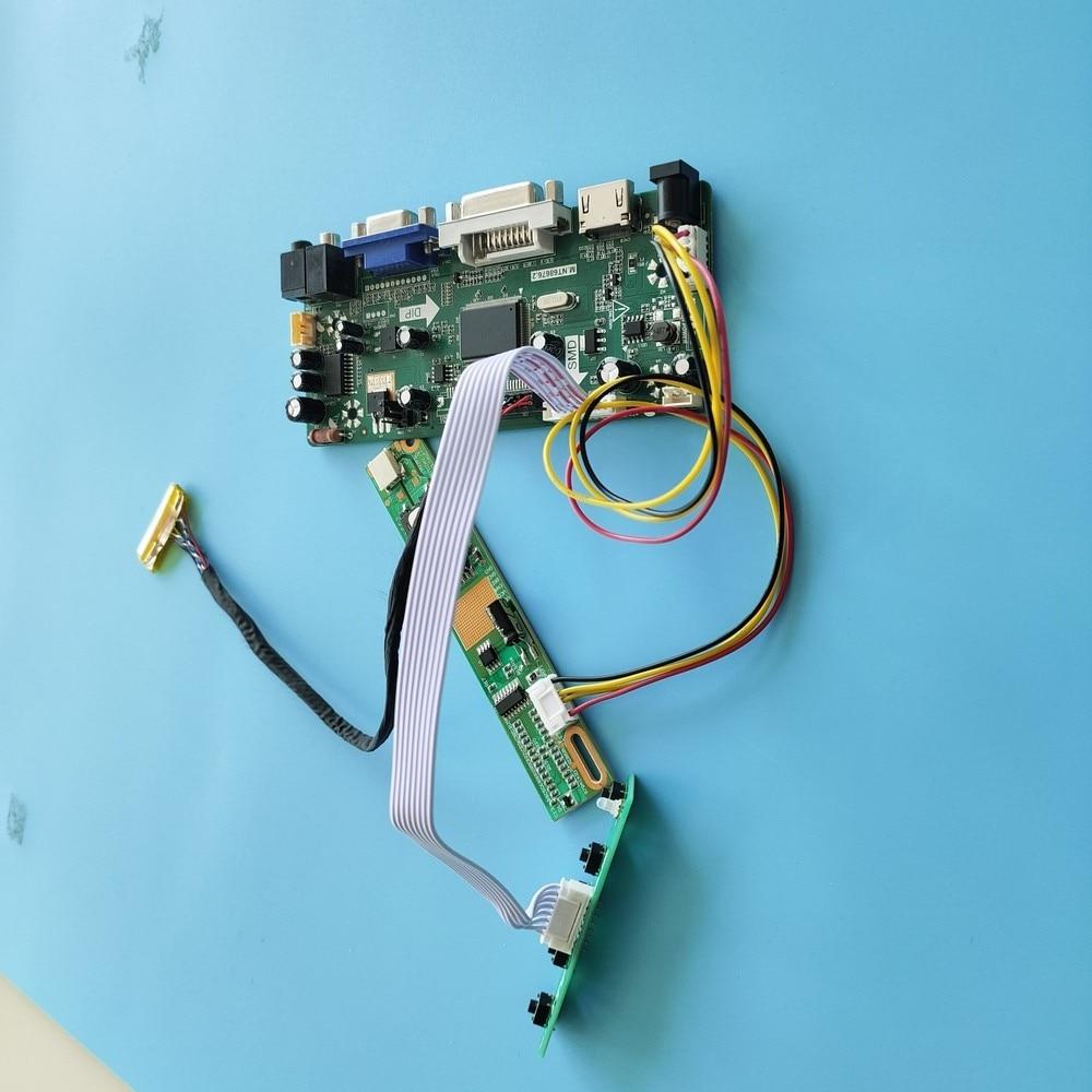 كيت ل LP150X08-A3KC/LP150X08-A3M1 تحكم مجلس HDMI + DVI + VGA LCD الصوت 30pin 1024x768 moitor M.NT68676 عرض لوحة