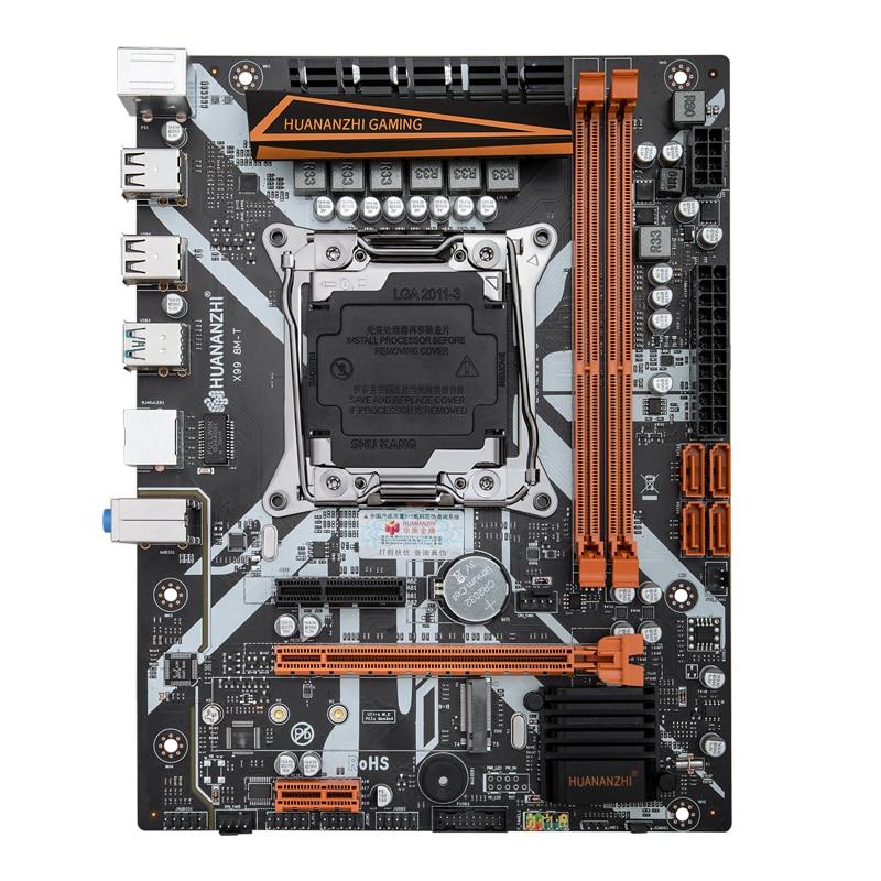 X99-8M-F Motherboard CPU Set DDR3/DDR4 Desktop 2678v3