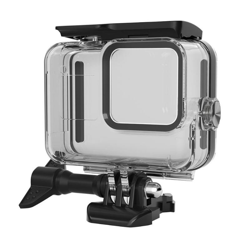 35pcs Sport Camera Accessories Kits for Gopro Hero 8 Waterproof Case+Buoyancy Bar+Selfie Stick Set for Gopro Hero 8 Accessories