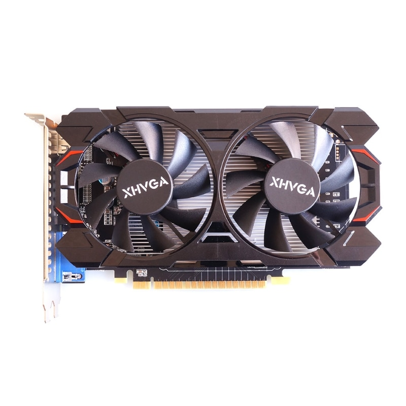 Portable GTX 650 Ti 2GB GDDR5 128 Bit Direct Gaming Graphics Card ,PCI Express 3.0 16X with Twin Cooling Fan