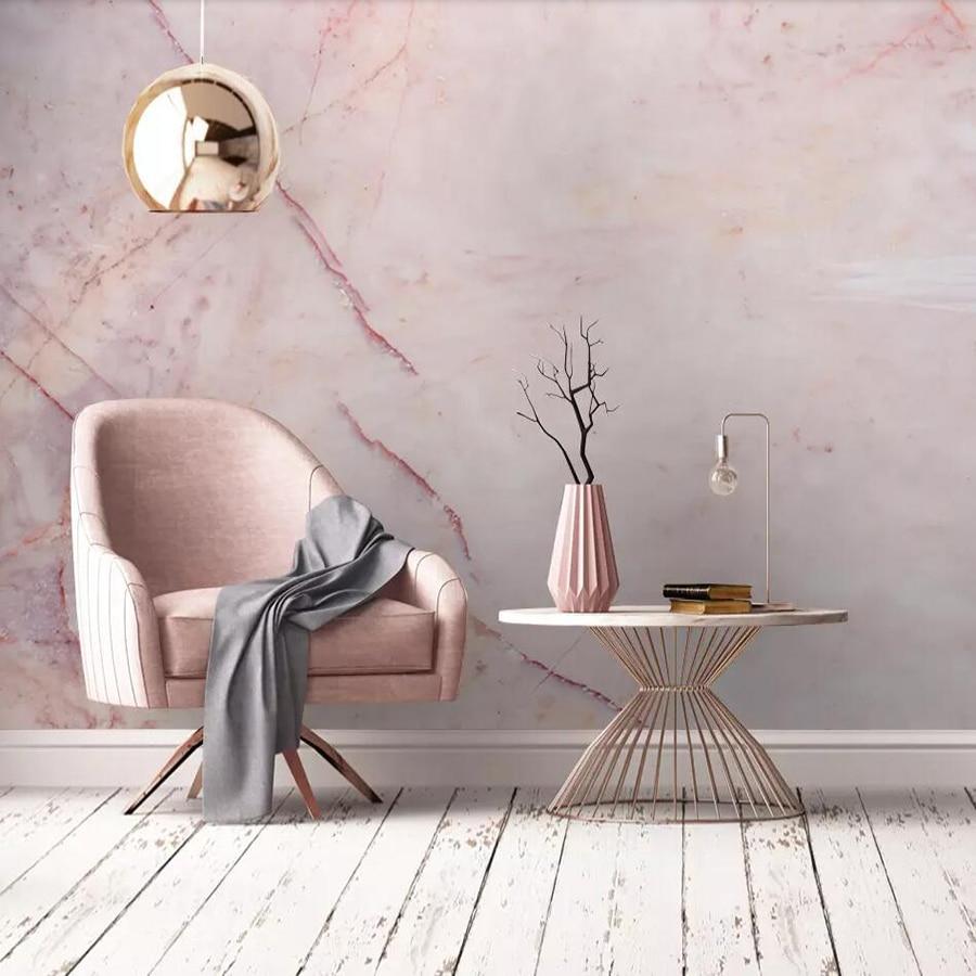 Фотообои на заказ, розовый мрамор, мрамор, фон, Украшение стен, живопись