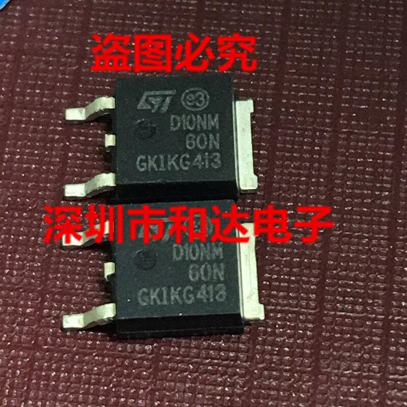 5pcs/lot STD10NM60N  TO-252 650V 10A