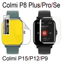 screen protective film for colmi p8 plusprose p9 p12 p15 bracelet screen protector tpu silicone transparent protective films