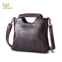 Soft Top Quality Leather Famous Brand Luxury Ladies Vintage Shopping handbag Shoulder bag Women Desi