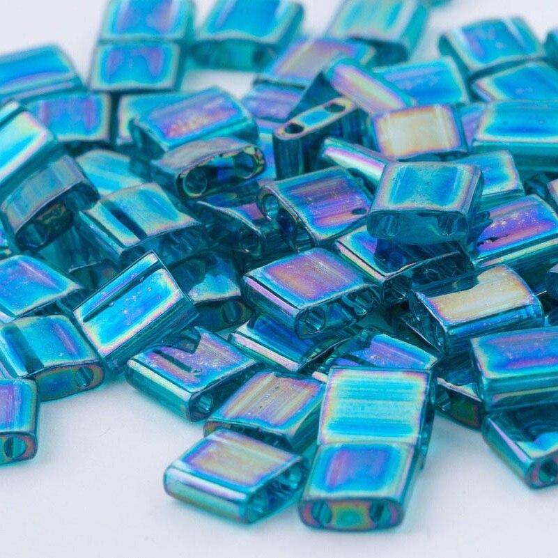 Cuentas vintage de cristal para manualidades con 2 cuentas con orificios 5x5x1,9mm 5 gr/lote de BLUESTAR Tila japonés