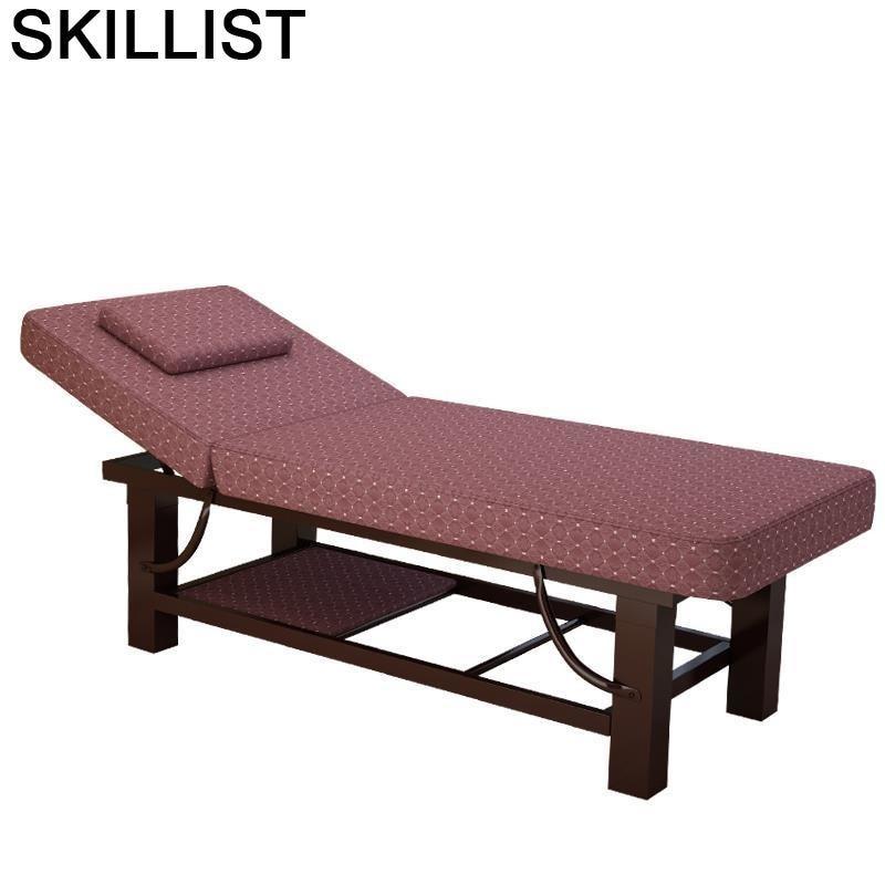 Masaggio-Cama Plegable De masaje para salón, Tidur, Lipat, Cama Plegable