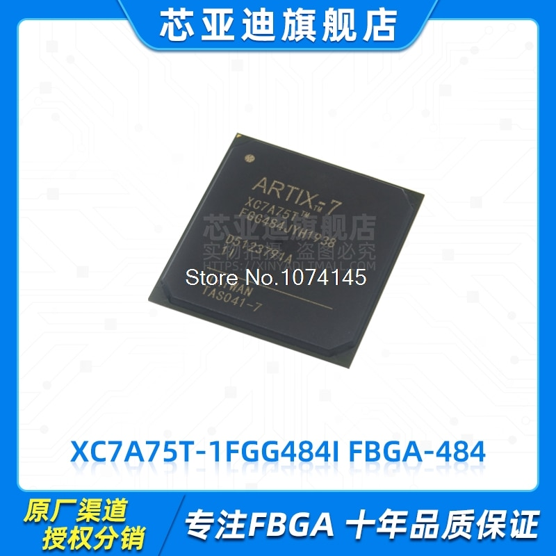 XC7A75T-1FGG484I FBGA-484 FPGA