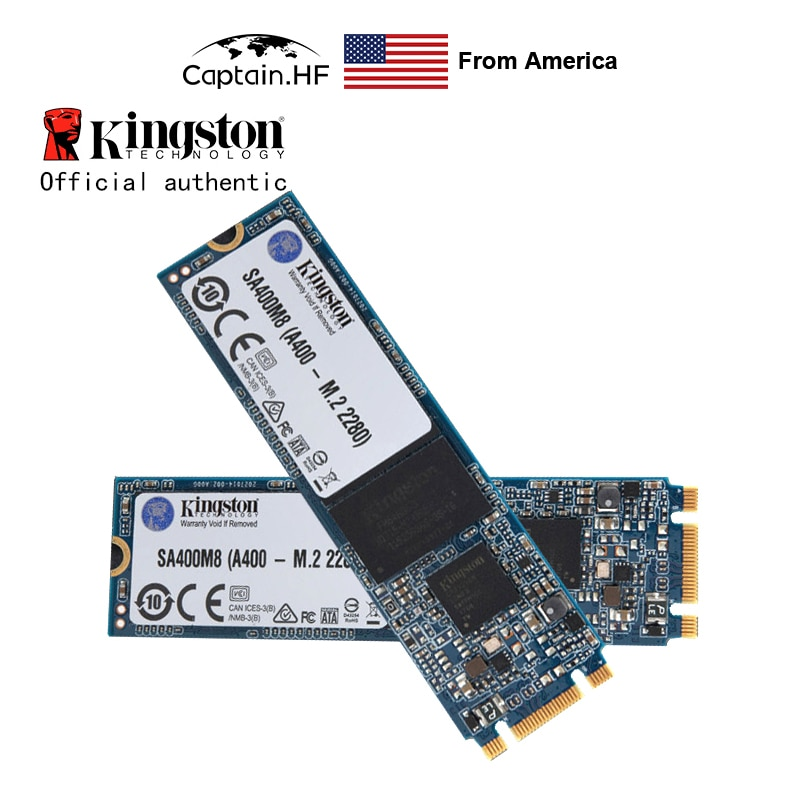 "US Captain SATA SSD A400 2.5"" & M.2 2280 120GB, 240GB for PC, Laptop, Notebook"