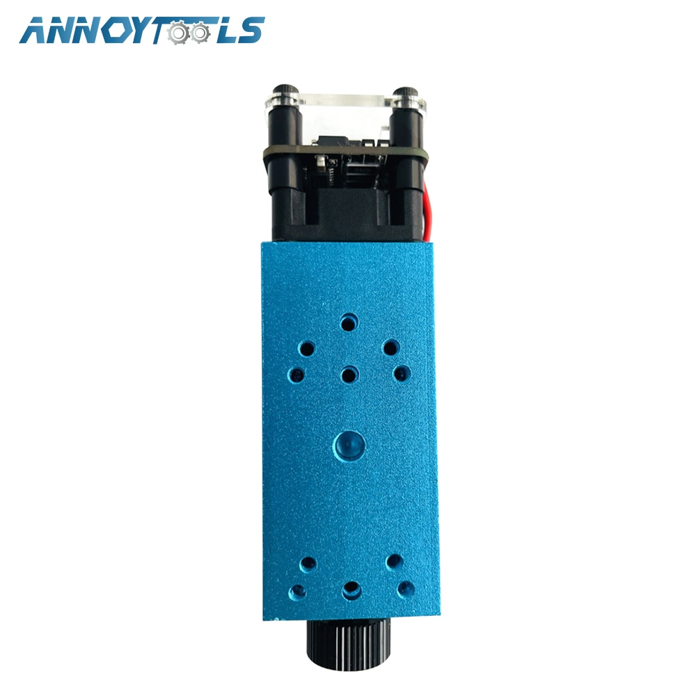 3.5W Blue Adjust Focus Laser Module 450nm TTL/PWM Engraving Metal Cutting Wood Machine Tool Compressed Spot Technology+Glasses enlarge