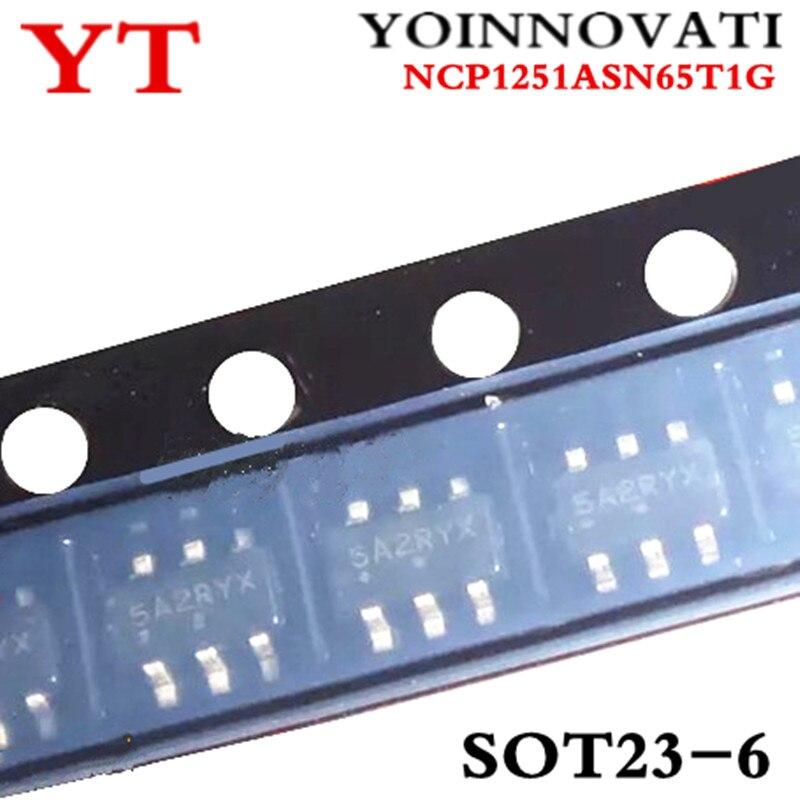 100 قطعة/الوحدة NCP1251ASN65T1G NCP1251 PWM CTLR OCP مزلاج OVP SOT23-6 أفضل جودة