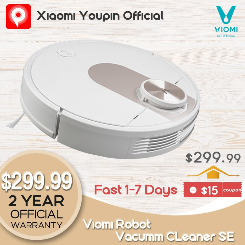 YouPin VIOMI SE Robot Vacuum Cleaner Smart Y-type Electric Mop Mijia APP Save 5 Maps 7 Schedule Carpet Hair Pet Dust Collector