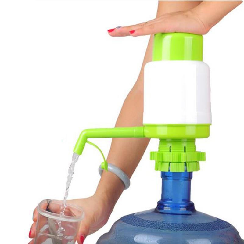 5 갤런 병에 든 음료수 핸드 프레스 수동 펌프 디스펜서 물병 주전자 핸드 펌프 디스펜서 호스 확장