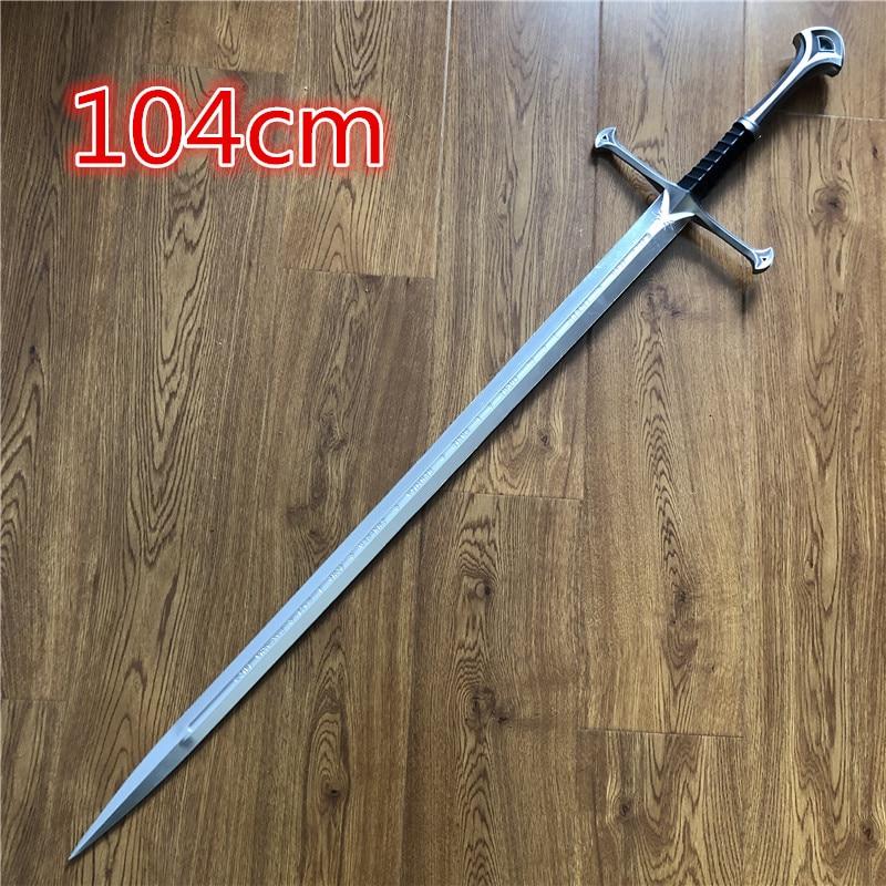 1:1 тот же меч Насира шторм мечей фильм дьявольский меч дом Старков из Винтерфелла Арагон меч Cos Реквизит из ПУ меч игрушки