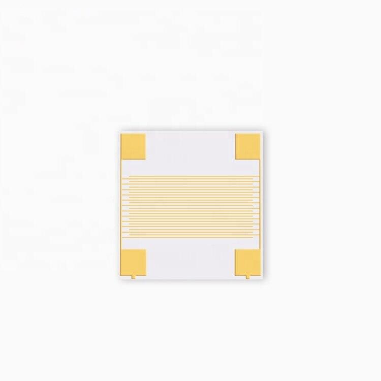 Al2O3 sustrato de cerámica alúmina Interdigital electrodo dedo electrodo 10 unids/pack