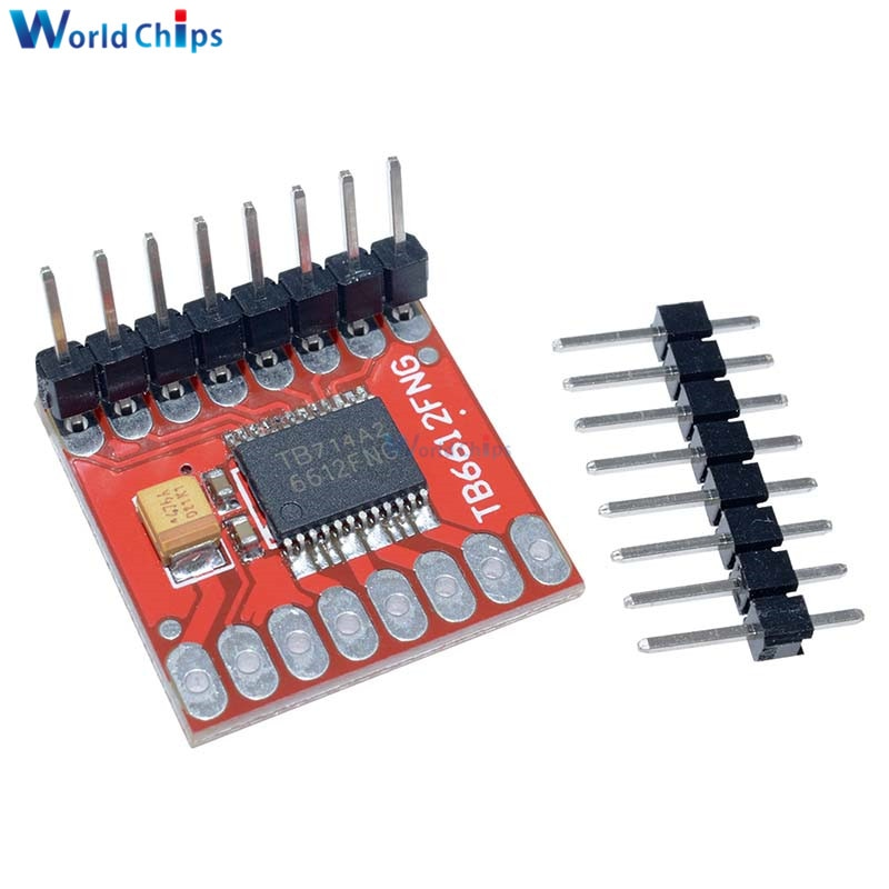 TB6612FNG Dual Módulo de accionamiento del Motor 1.2A 3.2A microcontrolador DC Stepper Motor Control Drive placa de expansión escudo