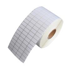 Etiqueta Adhesiva térmica para supermercado, papel adhesivo en blanco, impresión directa, suministros de impresión impermeables, gran oferta, 500 Uds.