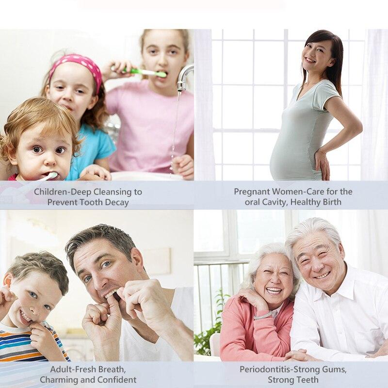Apiyoo Oral Irrigator CF-8 Water Flosser Portable Electric Dental 4 Jet Tips 800ML Water Tooth Care Teeth Cleaner Toothbrush enlarge