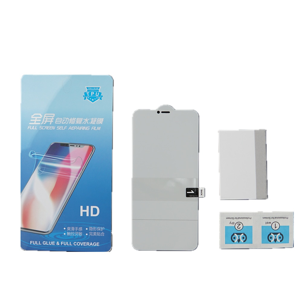 Screen Protector Hydrogel Film For LG V30 Plus V40 V50 Full Coverage Protective Explosion Film For LG V40 (Not Glass)