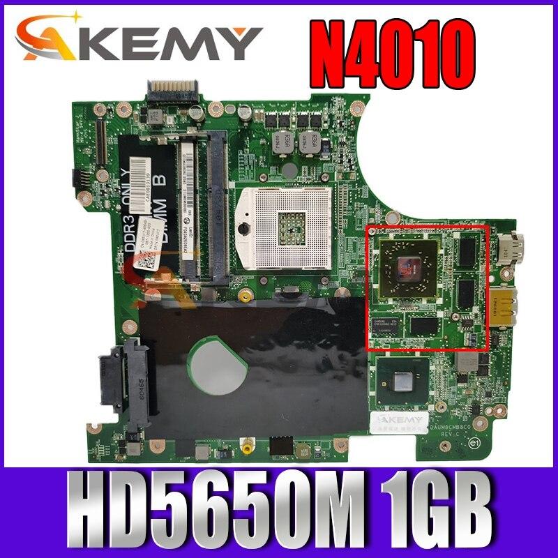 Akemy لديل انسبايرون 14R N4010 اللوحة المحمول HM57 DDR3 HD5650M 1GB شحن CPU DAUM8CMB8C0 CN-0951K7 0951K7