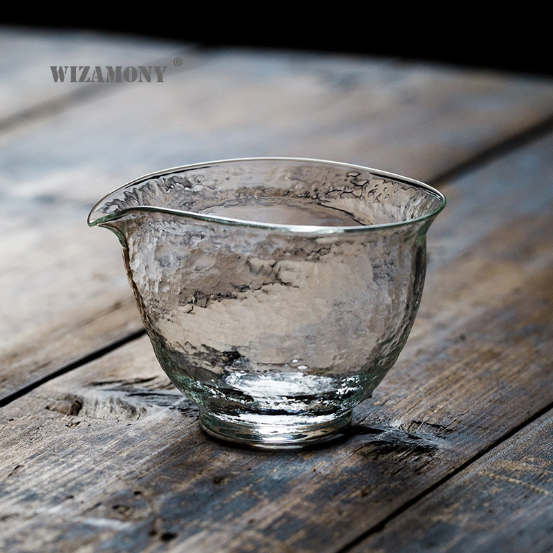 WIZAMONY 210ml gran oferta juego de té de estilo japonés tetera resistente al calor de vidrio jarra de té taza de té Cha hai gongazo