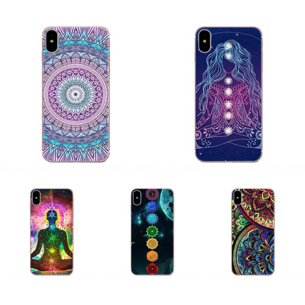Soft Protective Case For HTC Desire 530 626 628 630 816 820 830 One A9 M7 M8 M9 M10 E9 U11 U12 Life Plus Mandala Chakra Yoga