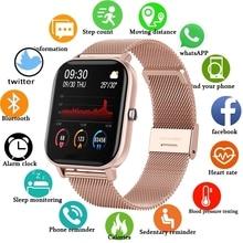LIGE Fashion Smart Watch Women Sports Fitness Heart Rate Blood Pressure Monitor Multifunctional Lady