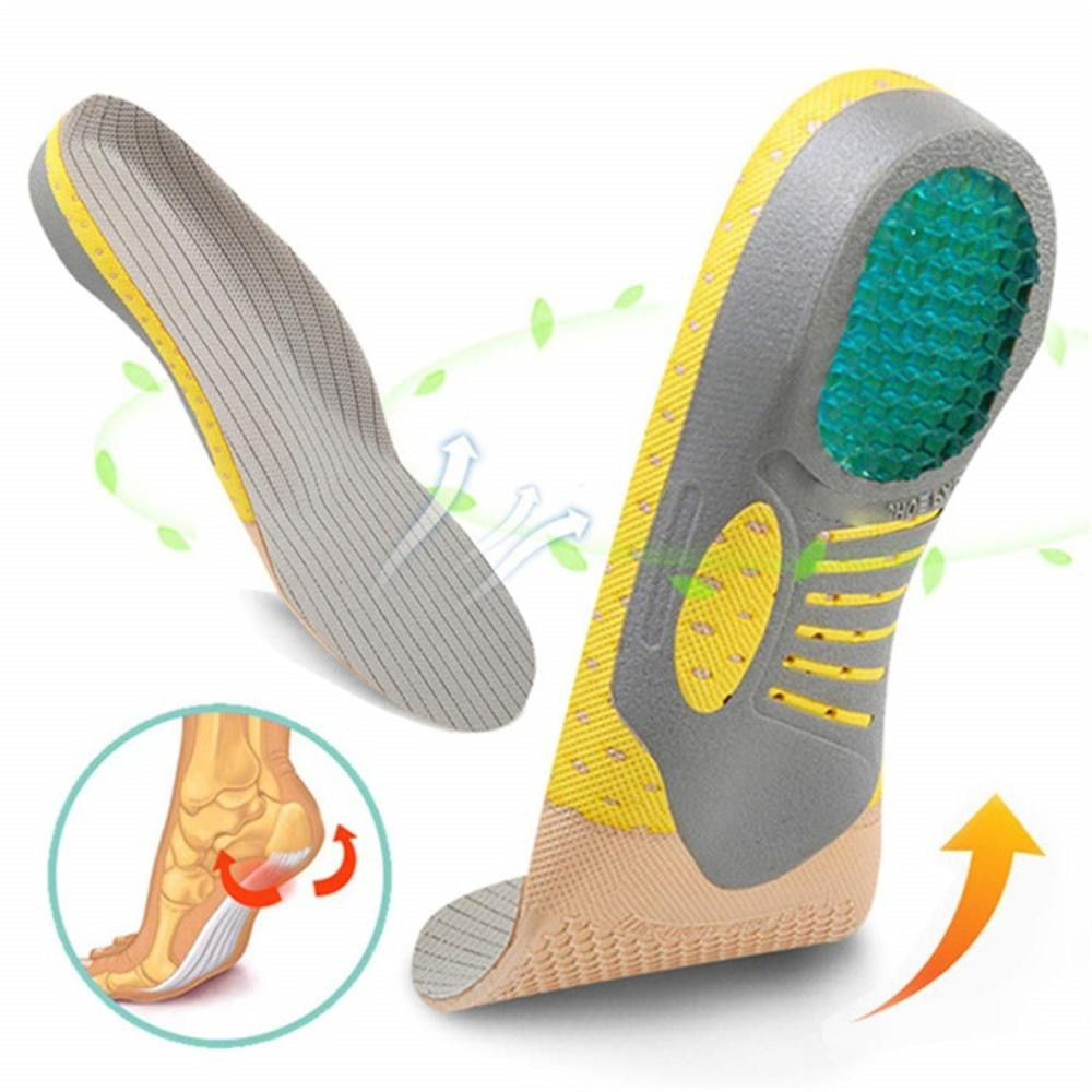 silica gel pad for plantar fascitis arch support orthotics insole feet care health foot massage spats elderly feet drop brace Pvc Orthopedic Insoles Orthotics Flat Foot Health Sole Pad For Shoes Insert Arch Support Pad For Plantar Fasciitis Feet Care