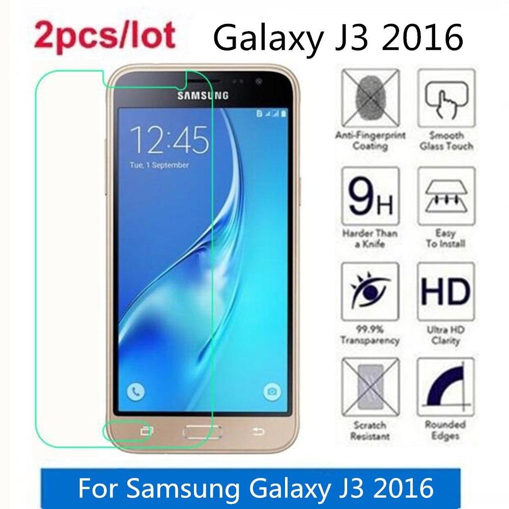 強化ガラス三星銀河 J3 2016 2.5D プレミアム画面に保護フィルム銀河 J3 2016 J320 J320F 保護フィルムガラス