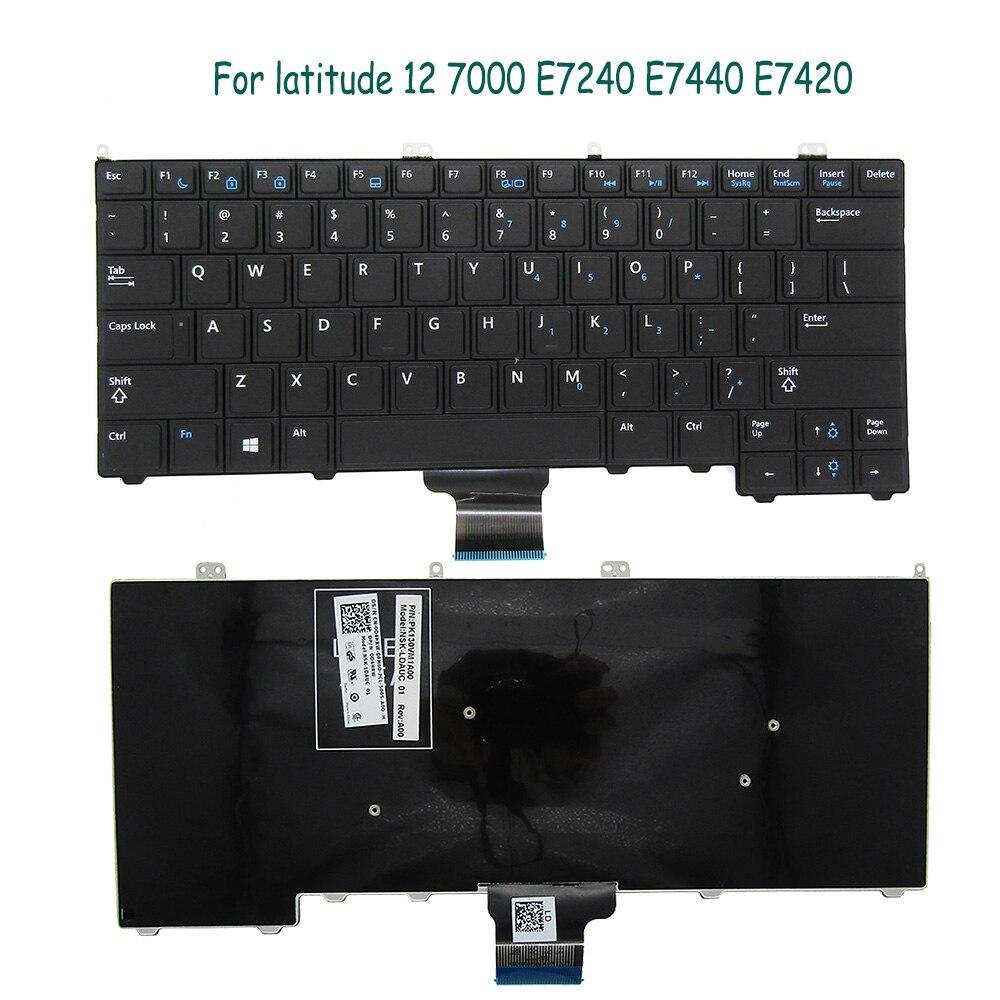 جديد الأصلي لوحة مفاتيح DELL E7440 E7420 E7240 محمول 0D4HRW 09PM11 NSK -LDAUC