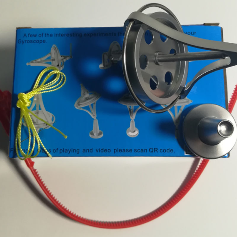 Instructional Equipment for Physical Antigravity of Inertial Flywheel with Balanced Opening for Metal Mechanical Gyroscope Toys enlarge