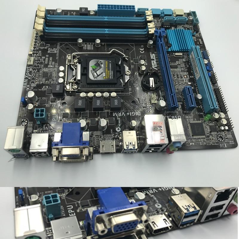 ASUS B75M-PLUS Motherboard for Intel LGA 1155 DDR3 Intel B75 Original Boards 32GB USB2.0 USB3.0 Mainboard Desktop Used Tested
