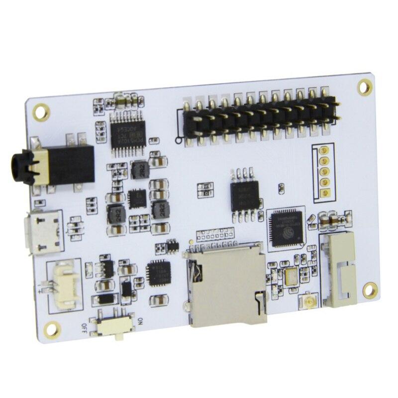 PCM5102A tarjeta SD ESP32 WiFi módulo Bluetooth TTGO Tm 2,4 pulgadas álbumes de música