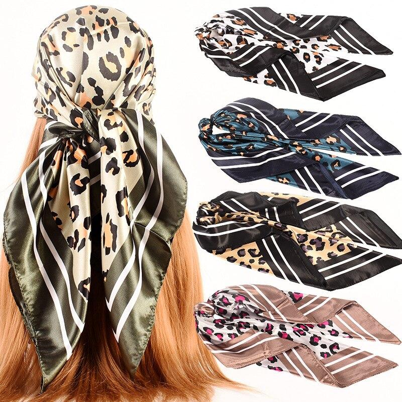 2021 хлопок бандана шарф квадратный головной шарф для женщин мужчин Модная велосипедная бандана мотоциклетная Женская бандана головной убор...