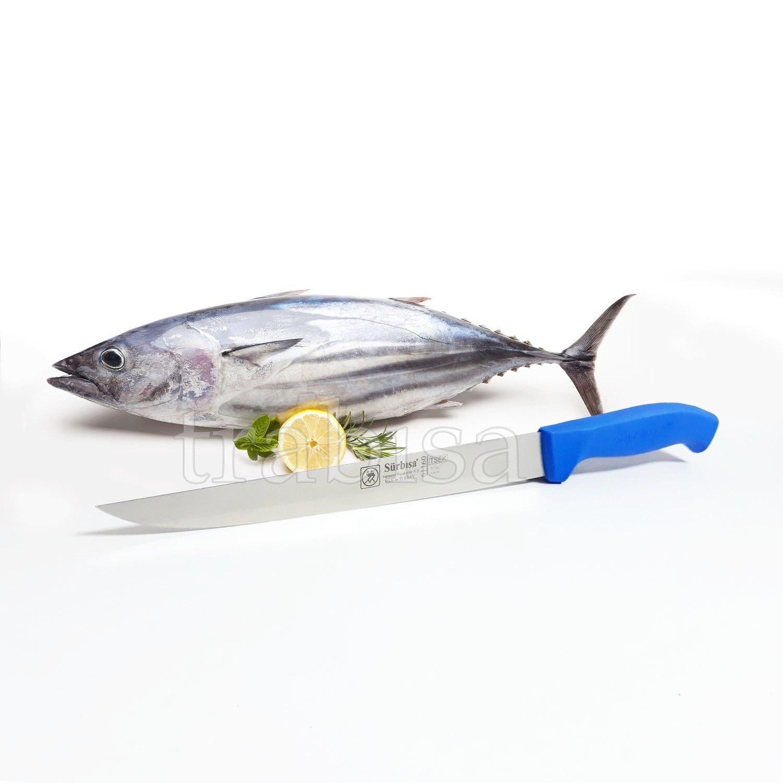 Sürbısa 61160 profissional de aço inoxidável faca chef cozinha salmão sushi filé pescador faca ferramenta cozinha feita na turquia