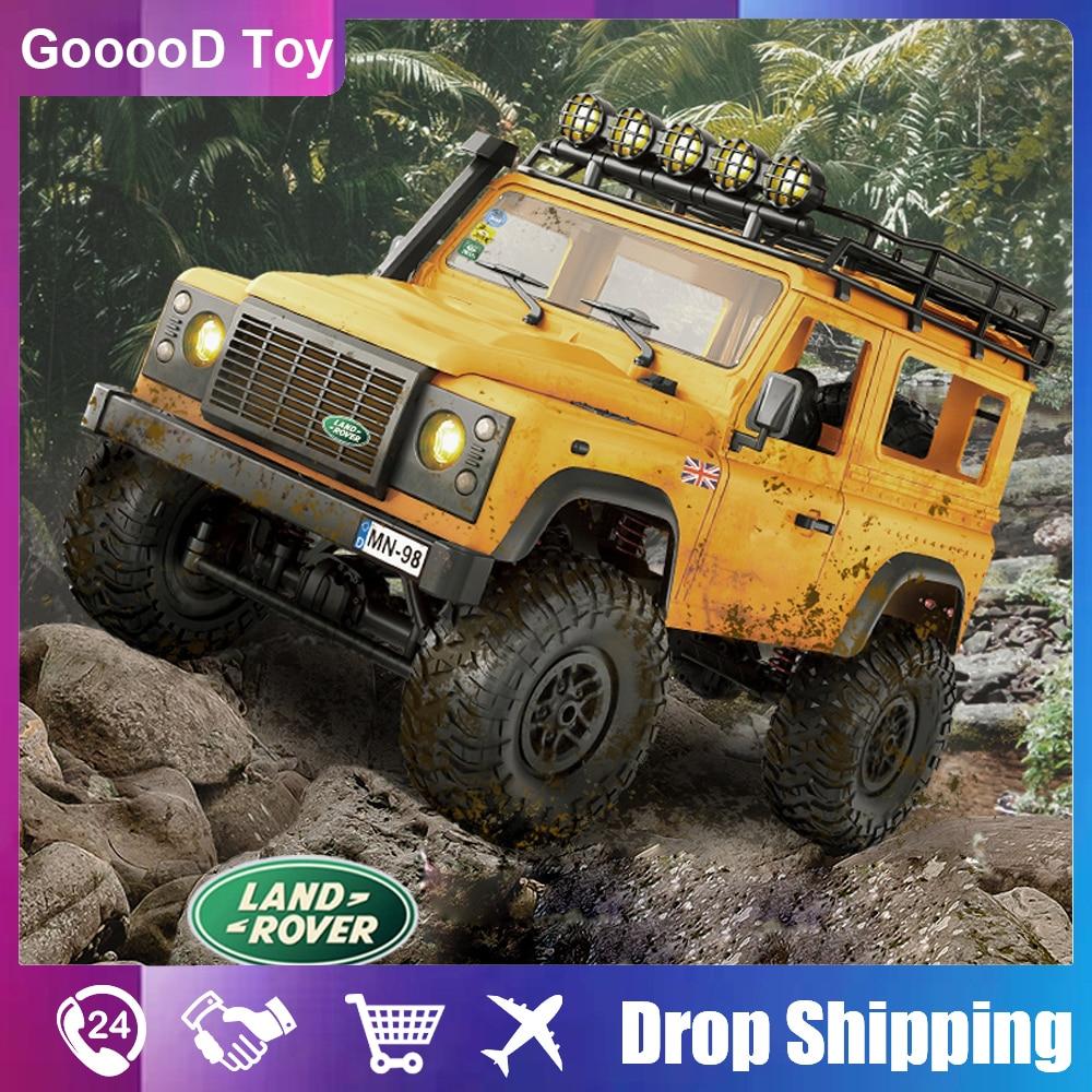 1:12 MN98 RC Car 2.4G Radio controlled Electric car 4x4 machine Model rc drift offroad Buggy bigfood truck Toys for children boy