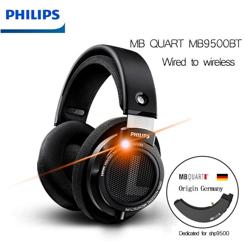 [해외] 필립스-SHP9500 유선 헤드폰, 3m 케이블 mbq APTX AAC 독일 Goethe 무손실 블루투스 5.0 모듈 화웨이 Xiaomi