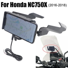 Téléphone GPS support de moto   Support de plaque pour Honda NC750X 2016 - 2019 2018 NC750 X NC 750X