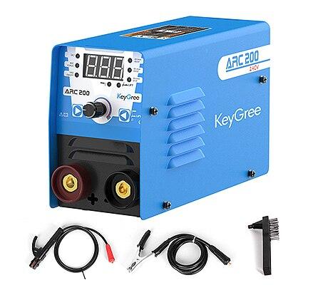 Popular MMA 200 amp double voltage 110/220V inverter ARC stick welders