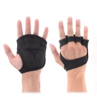 2pcs weight training gloves fitness gymnastics grip handle palm protection sports gloves