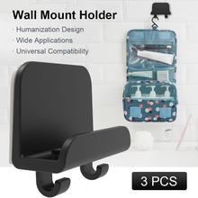 جدار جبل حامل هاتف المحمول هوك حامل هاتف الباب المحمول عقبة منفذ معلقة أصحاب جدار جبل قوس الملحقات