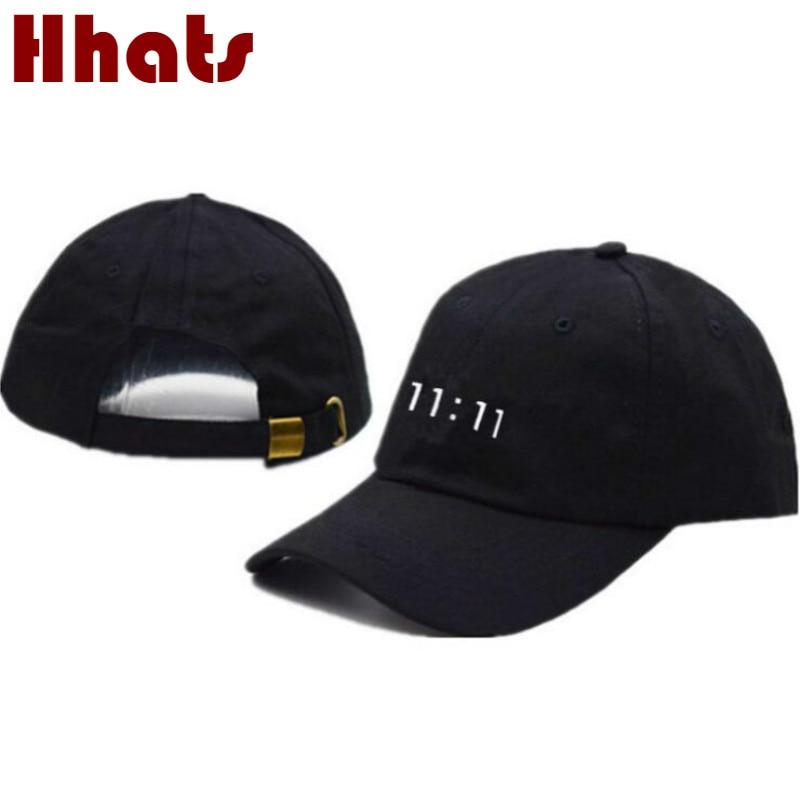 11:11 baseball cap hip hop embroidery cotton the rapper dad hat streetwear sports kpop snapback hat outdoor hiphop men cap bone