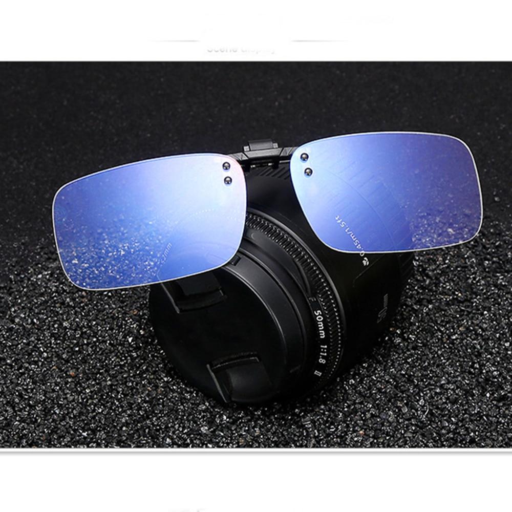 Clip On Blue Light Filter Blocking Anti Blue Ray Anti-fatigue Glasses Office Computer Anti UV Strain