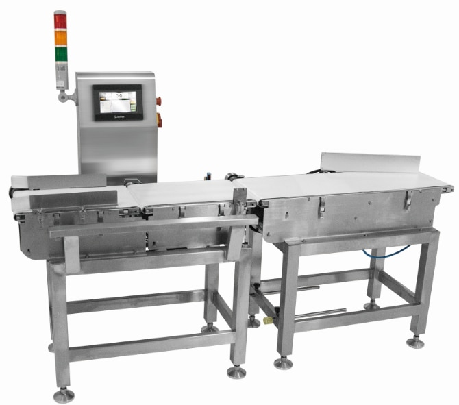 Check Weigher Checkweigher for Biscuit Food Bags Boxes Cartons enlarge