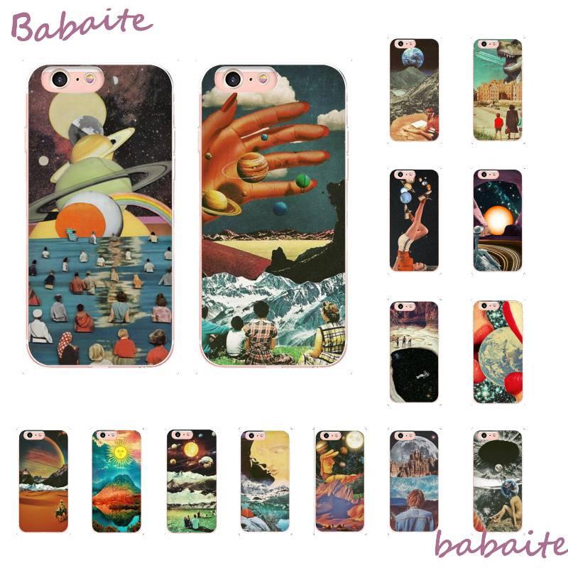 Babaite винтажное Триппи искусство эстетическое Сделай Сам Печать Рисование PhoneCase для iPhone 8 7 6 6S Plus X XS MAX 5 5S SE XR 11 11pro promax